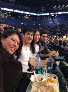 Court Side Seats & All-You-Can-Eat at the Brooklyn Nets Game at the Barclays Center, 2/19/14