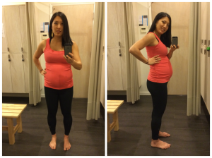 Month 6 Belly Photo, 4/9/14