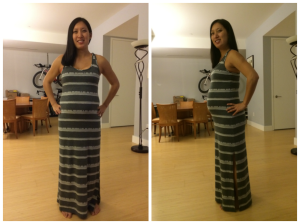 Month 7 Belly Photo, 5/7/14