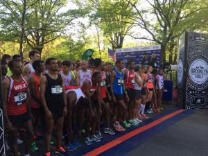 Brooklyn Half Marathon Start Line, 5/18/14